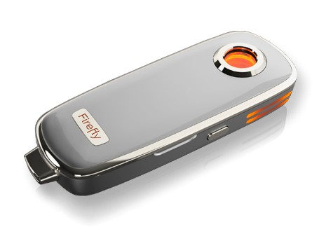 firefly dry herb portable vape smoke with this